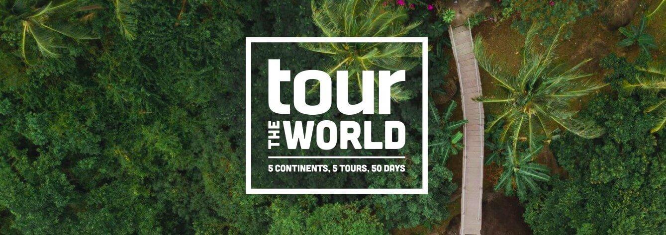 50 днів 5 міст 5 континентів