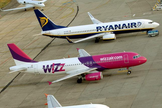 Wizzair та Ryanair