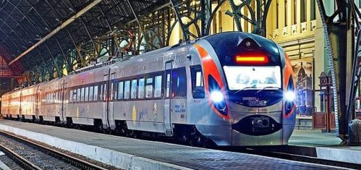 Потяг Мукачево - Будапешт