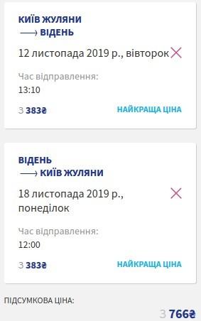 Київ - Відень