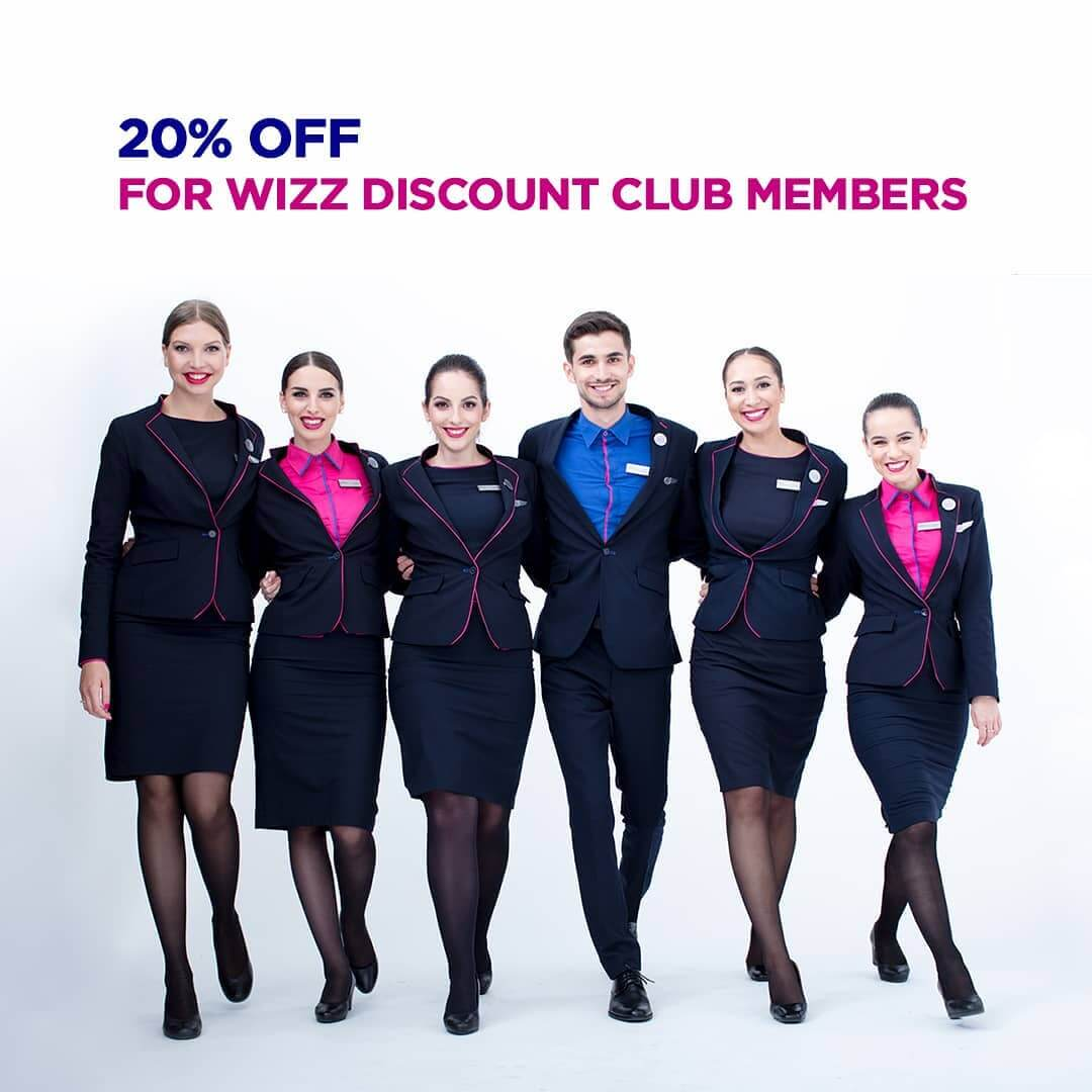 Wizz Air 20% discount